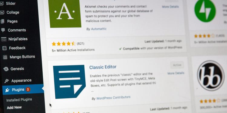 Top 8 WordPress plugins of 2021 to improve your website